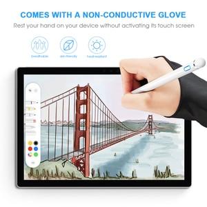 Карандаш-стилус для iPad, стилус для Apple Pen, iPad 2018, 2019, Air 2, для Apple pencil 1, 2, стилус для планшета + перчатка-держатель