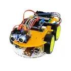 A2 Многофункциональный робот автомобиль комплект для Bluetooth шасси костюм Отслеживания совместим с UNO R3 DIY RC электронная игрушка робот с Lcd160 - 1
