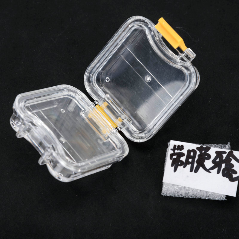 New dental lab supply 50pcs Plastic denture Tooth Box with Film High Quality Denture Storage Box Membrane Tooth Box 1