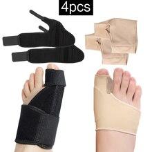 4Pcs Bunion Corrector Toe Hallux Valgus Orthosis Unisex Standard Foot Care Ortho