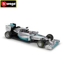 Bburago 1:32 Mered Bnz Colonne F1 W05 Hybrid Diecasts Racing Simulatie Legering Model Hamilton Auto Speelgoed En Cadeaus Voor Kinderen