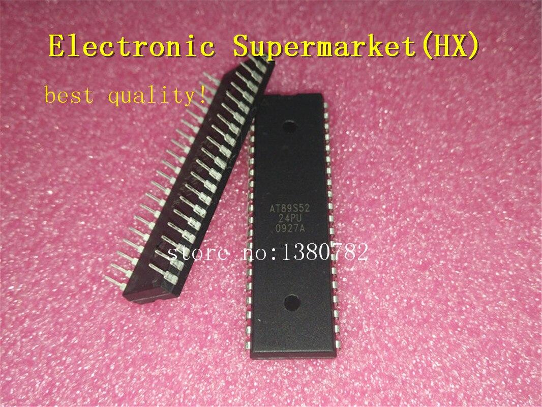 Free Shipping 100pcs/lots AT89S52-24PU AT89S52 DIP-40 IC In stock!