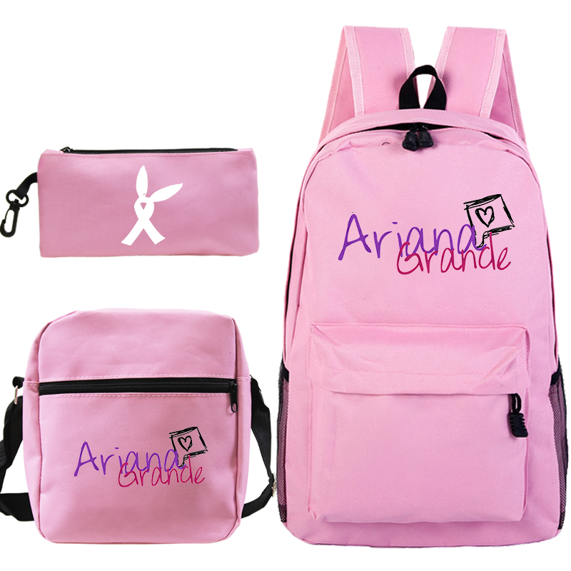 Fashion Women Bagpack Ariana Grande  Student Schoolbag For Teenage Girls Travel Laptop Bag Female Bookbag Mochilas For College