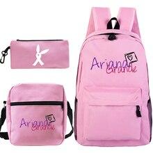 Fashion Women Bagpack Ariana Grande  Student Schoolbag for Teenage Girls Travel Laptop Bag Female Bookbag Mochilas for College