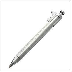 0.5mm Multifunction Gel Ink Pen Vernier Caliper Roller Ball Pen Stationery Measuring Instrument Herramientas Para Carpinteria