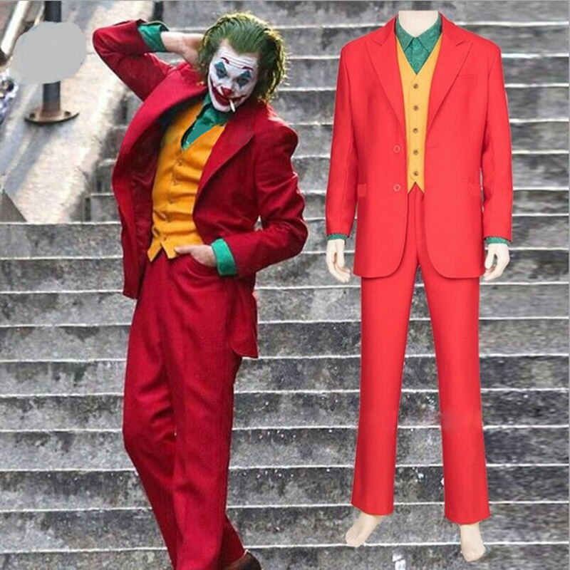 Snailify Halloween Costume For Adult 2019 Movie Joker Men Costumes Arthur Fleck Cosplay DC Costumes For Carnival Party