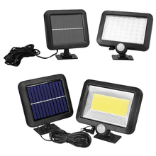 100 LED Solar Light Outdoor lighting Floodlight Emergency Decoration garden light Solar lamp Motion Sensor wall lamp