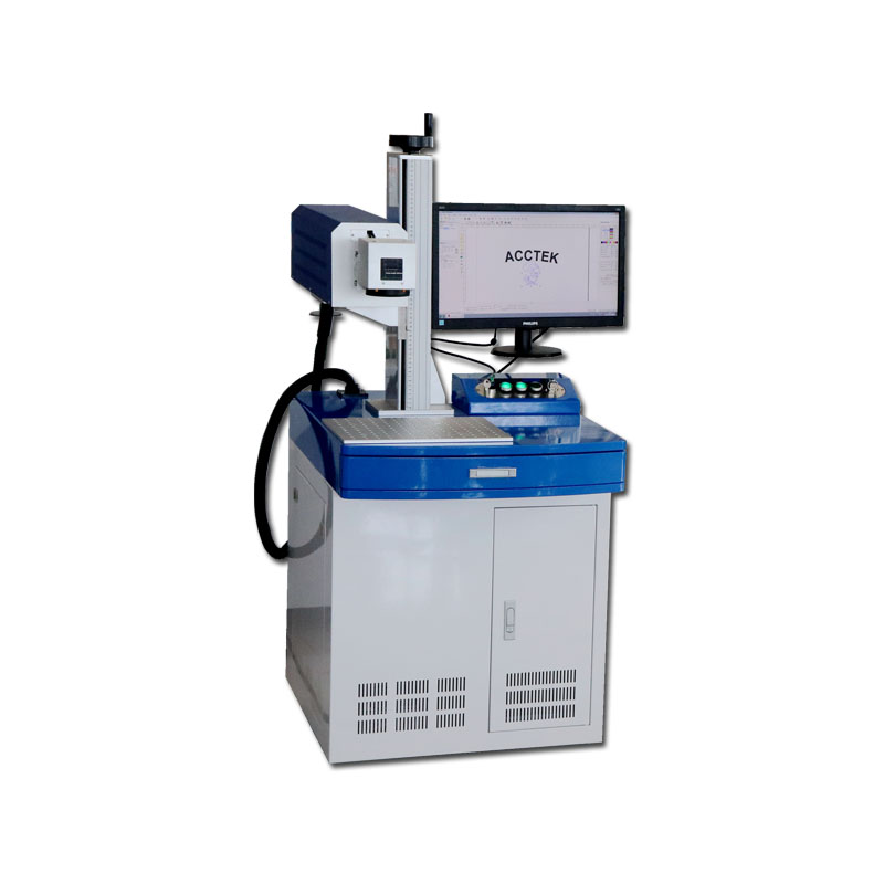 AccTek 30W 50W RF Tube CO2 Laser Marking Machine For Wooden Crafts/ Acrylic/ Glass