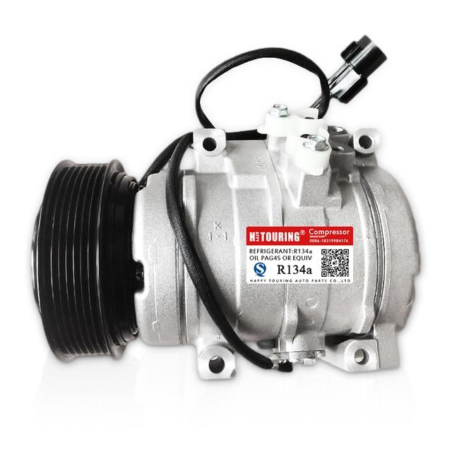 10S17C AC Compresseur pour Voiture Mitsubishi Montero V6 3.5L 3.8L 2001-2006 MR500877 MR5133448 MR568288 MR568290 MR500662 447220-363