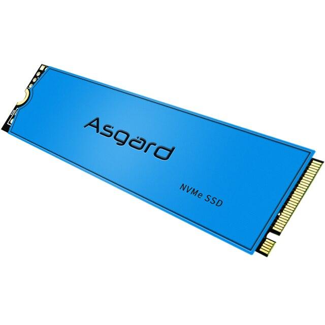 Asgard AN3 M.2 ssd M2 PCIe NVME 500 Гб Твердотельный накопитель 2280 внутренний жесткий диск для ноутбука с Кэш-памятью 4