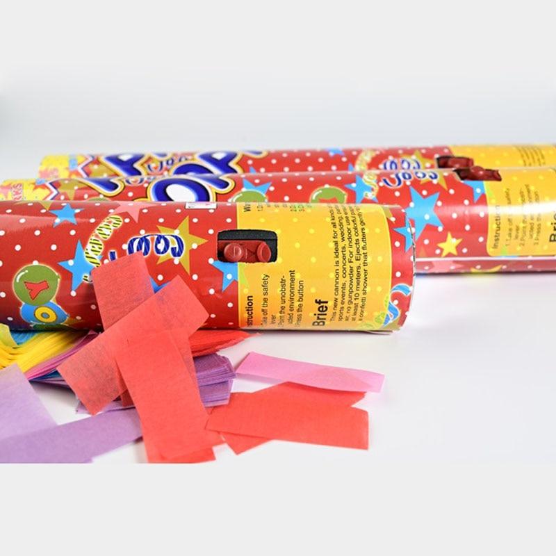 15 Inch Party Popper Cannons Confetti Handheld Fireworks Wedding Spray Dance Birthday KTV Christmas Celebration Spray Supplies