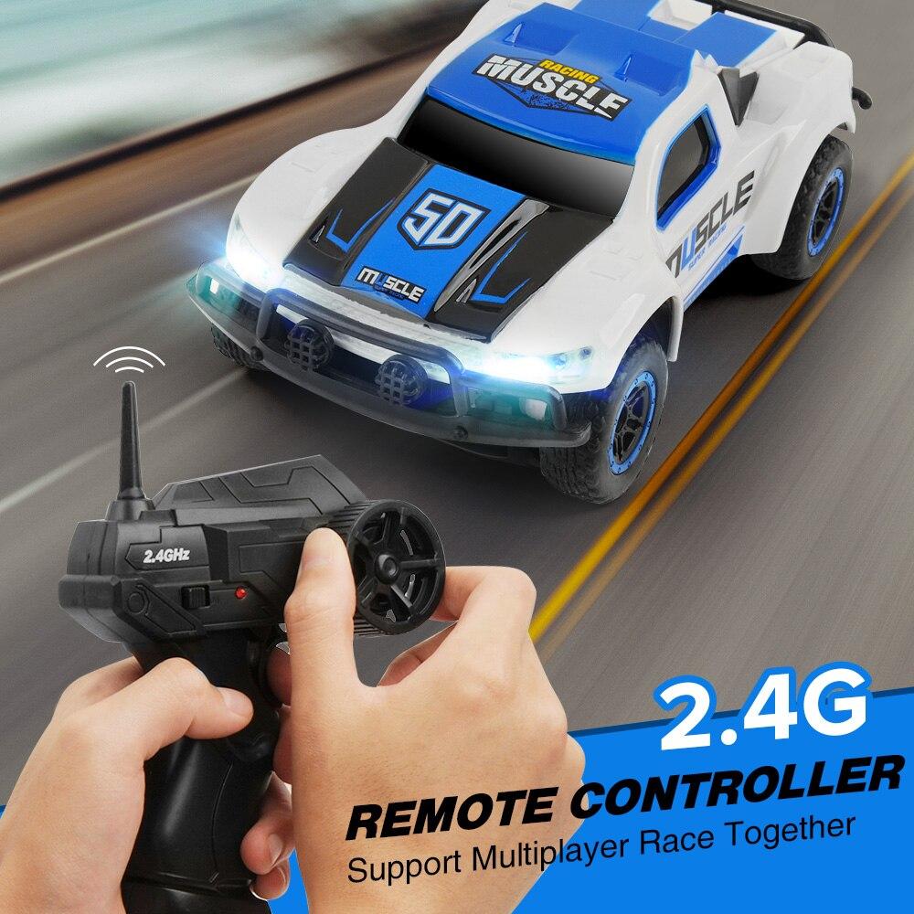 1/43 Mini RC Car High Speed 25KM/H 4CH Car Radio Controled Machine Remote Control Toys For Boys Xmas Gifts