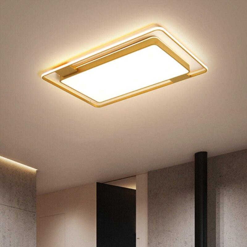 Square/Rectangle Led Chandelier For Living room Bed room lights Home Dec AC85 265V Modern Led Ceiling Chandelier Lamp Fixtures|Chandeliers| |  - title=