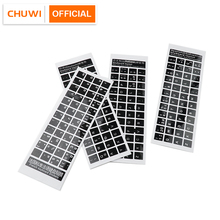 Keyboard-Sticker Tablets Laptops for And French/german Universal Plastic 2pcs