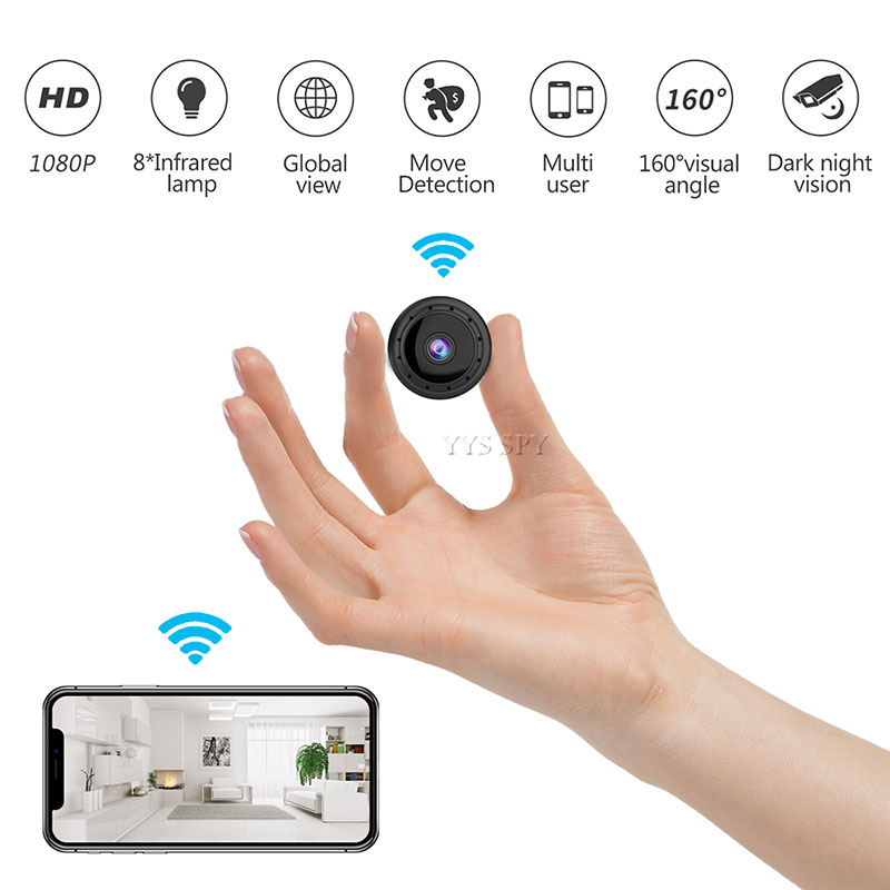 Mini Camera Wifi 1080P HD Secret Camara Espia Motion Detect Night Vision 160 Wide Angle CCTV IP Cam Remote Nanny Micro Camcorder image