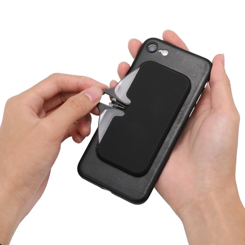 Legless braçadeira nariz presbiopia óculos para homem e mulher portátil pegajoso celular para enviar ultra-fino óculos caso