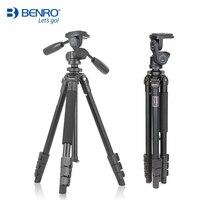 Benro A650FHD3 Tripod Kit Aluminium Camera Stand HD3 Three Way Head For Canon Nikon Micro SLR Camera Max Loading 8KG
