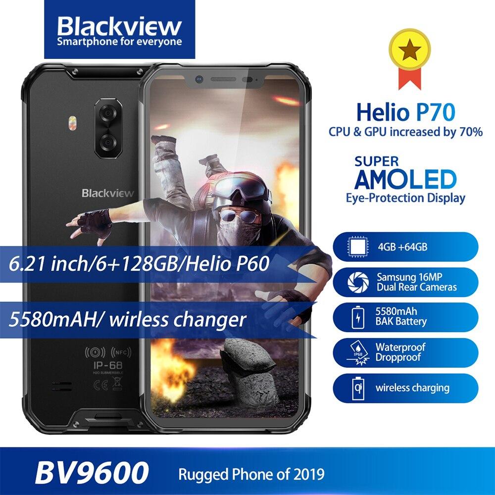 Blackview BV9600 IP68 IP69K robuste étanche Helio P70 Global 4G téléphone 6.21