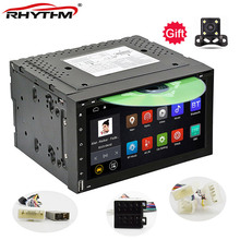 Universal 2Din Android 6.0 Car DVD radio GPS+wifi+BT+RDS +10