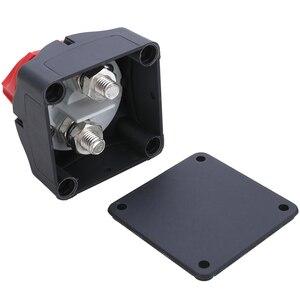 Image 5 - 1pc 24V 600A Auto Batterie Isolator Wichtigsten Batterie Not Pole Trennen Separator Schalter für RV Boot 68*68*74mm