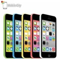 Original Unlocked Apple iPhone 5C Dual Core 4.0 8MP Mobile Phone 8GB/16GB/32GB ROM IOS GPS WCDMA 3G Used Smartphone Cell Phone