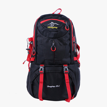 цена на Fashion Backpack Unisex Large Capacity Men And Women Bagpack Outdoor Waterproof Multifunction Rucksack Mountaineering Durable
