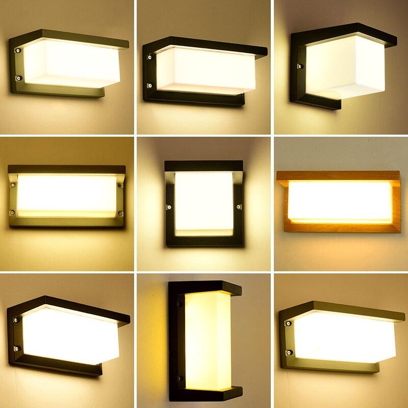 Cinza 18 w iluminação ao ar livre