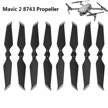 8pcs Propeller for DJI Mavic 2 Pro Zoom 8743 Low-Noise Props Quick-Release Folding Blade Noise Reduction Prop Drone Accessory набор пропеллеров dji p4p 9455s low noise quick release propellers для dji phantom 4 pro v2 0 djip4p9455s part137