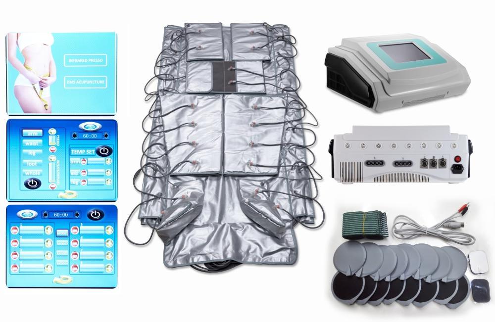 Máquina de drenaje linfático de pressoterapia de pérdida de peso a precio de fábrica
