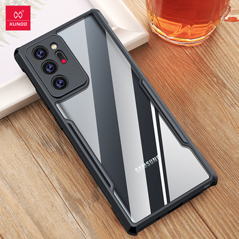 Xundd Case For Samsung Galaxy Note 20 Ultra Case Shockproof Transparent Cover Airbags Shell Soft Case For Note 20 Note 20+ Cover