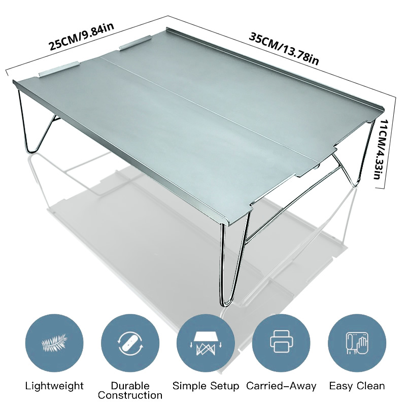 Table Aluminium Camp Desk