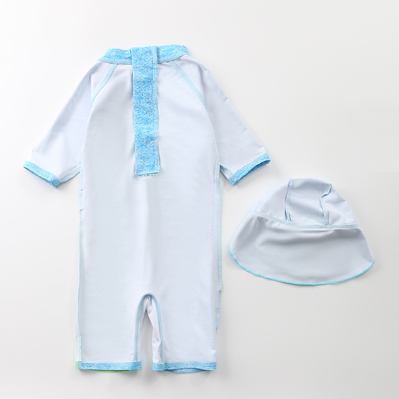 KID'S Swimwear Men's Korean-style One-piece Infant Baby Cute Tour Bathing Suit Boy Surf Wear Hipster Swimsuit For Boys