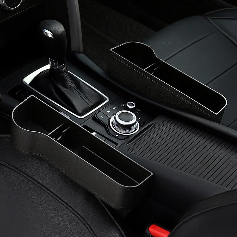 Multifunctional Car Seat Crevice Storage Box Grain Organizer Gaps Filler Holder