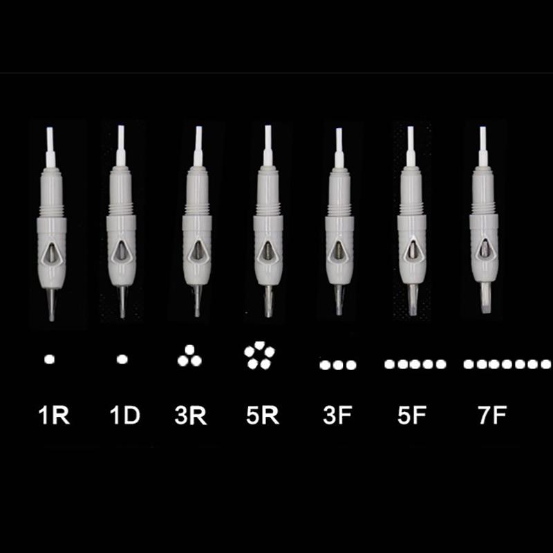 200pcs Microblading Cartridge Needle for Charmant Device Permanent Makeup Machine Pen 2019 Charme Princesse Tattoo Machine
