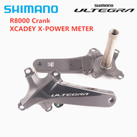 SHIMANO ULTEGRA R8000 Right POWER Crank 165mm 170mm 172.5mm XCADEY X POWER METER Crank GPS Support ANT Bluetooth Free Shipping