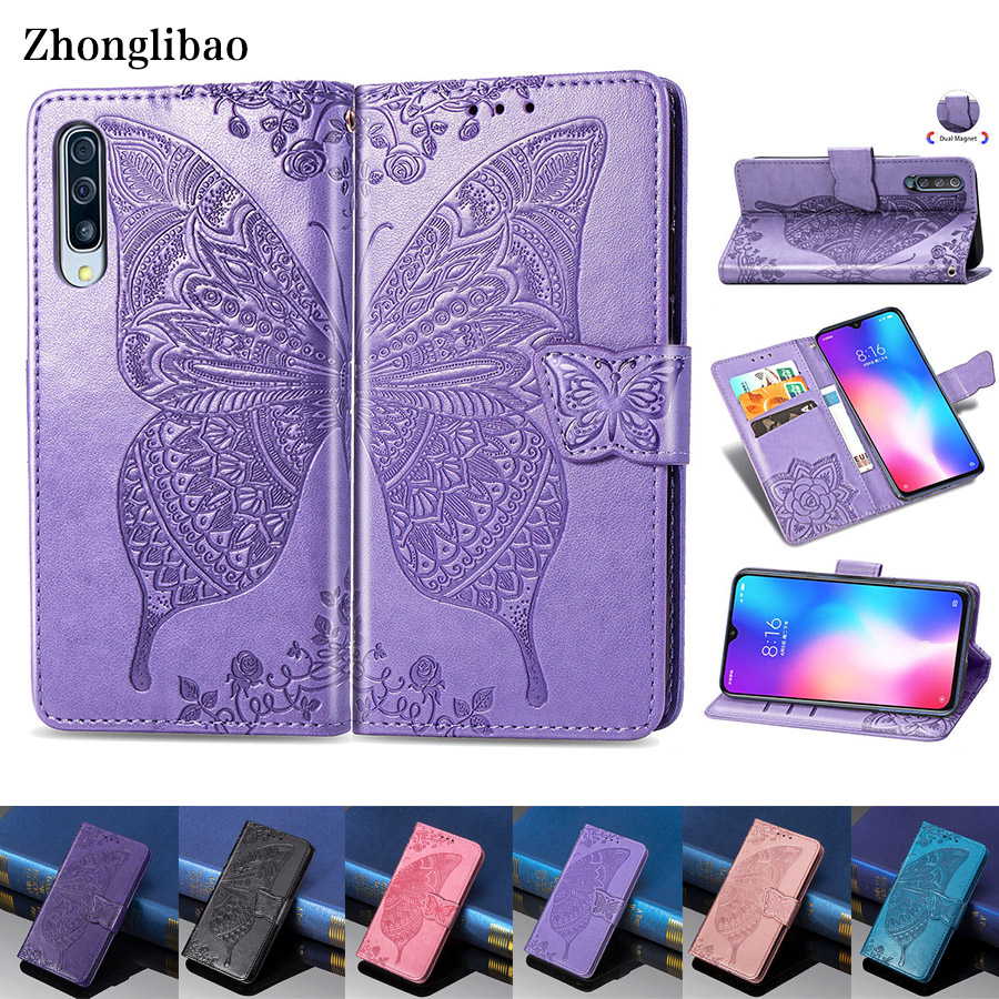 3D Leather <font><b>Flip</b></font> <font><b>Case</b></font> for <font><b>Xiaomi</b></font> <font><b>Mi</b></font> <font><b>9</b></font> Se 9t 8 A3 Lite Pocophone F1 Play Redmi K20 7a Note 8 7 6 Pro Luxury <font><b>Wallet</b></font> Magnet Cover image