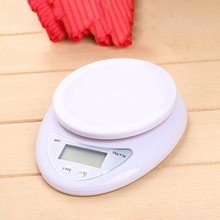 Digital Scale Electronic-Scale Precision Balance-Weight Food-Diet Kitchen LED 5kg 5kg--1g