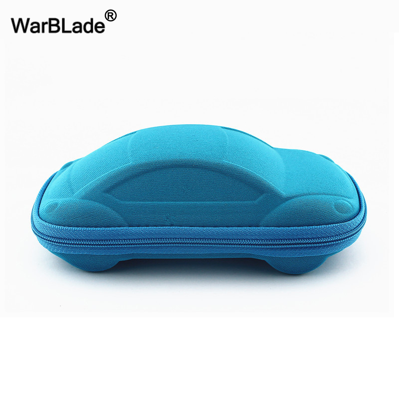 Children Car Shaped Glasses Case Cute Glasses Strage Bag Box Cases Kids Sunglasses Cases Automobile Styling Box