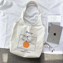 Korea Fashion Canvas Bag Students' Supply Multi-layer Convenient Storage Tutorial Bag Lovely Stationery