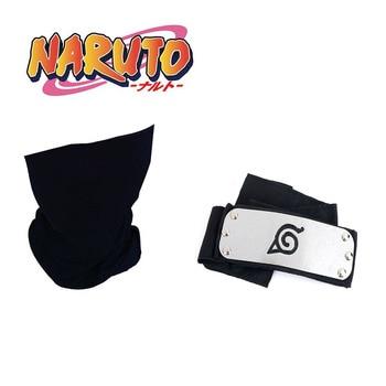 Anime Naruto Hatake Kakashi Cosplay Headband  Masks Props - discount item  30% OFF Costumes & Accessories