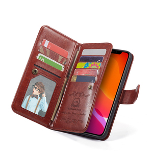 Image 4 - Haissky Detachable Flip Leather Case for iPhone 11 11 Pro Max X Xs Max XR SE 2020 8 7 6 6S Plus 5 5S Magnetic Wallet Phone Case