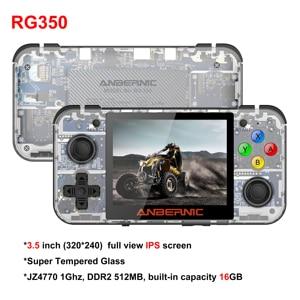 Image 5 - Ретро игровая консоль HANHIBR RG350, HD IPS экран 3,5 дюйма, 16 ГБ, 64 ГБ