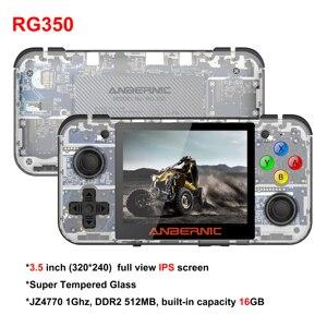 Image 5 - HANHIBR RG350 לינוקס מערכת רטרו משחק RG350M קונסולת 3.5 אינץ HD IPS מסך 16GB כף יד משחק לשחק 64GB RG350M 16 אמולטורים