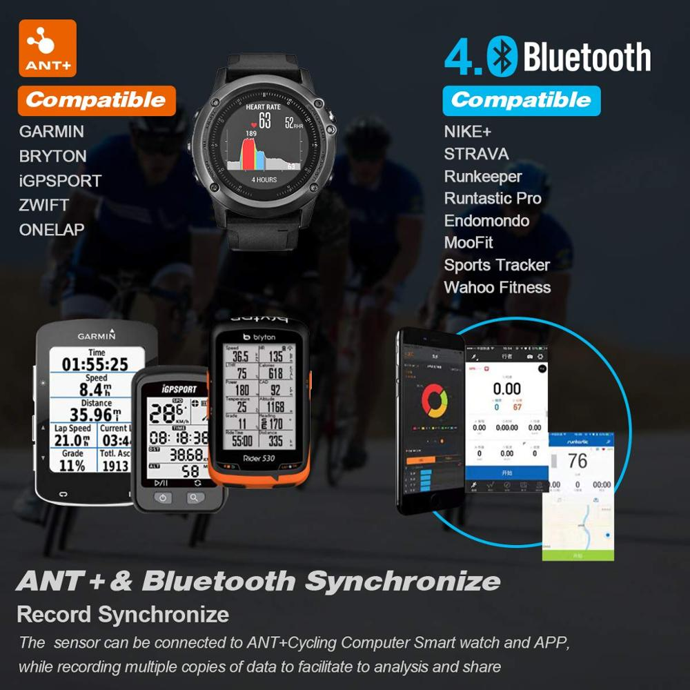 Image 4 - cycling Magene Mover H64 Dual Mode ANT+ & Bluetooth 4.0 Heart Rate Sensor With Chest Strap Computer Bike Wahoo Garmin Sportscycling antcycling sensorant sensor -