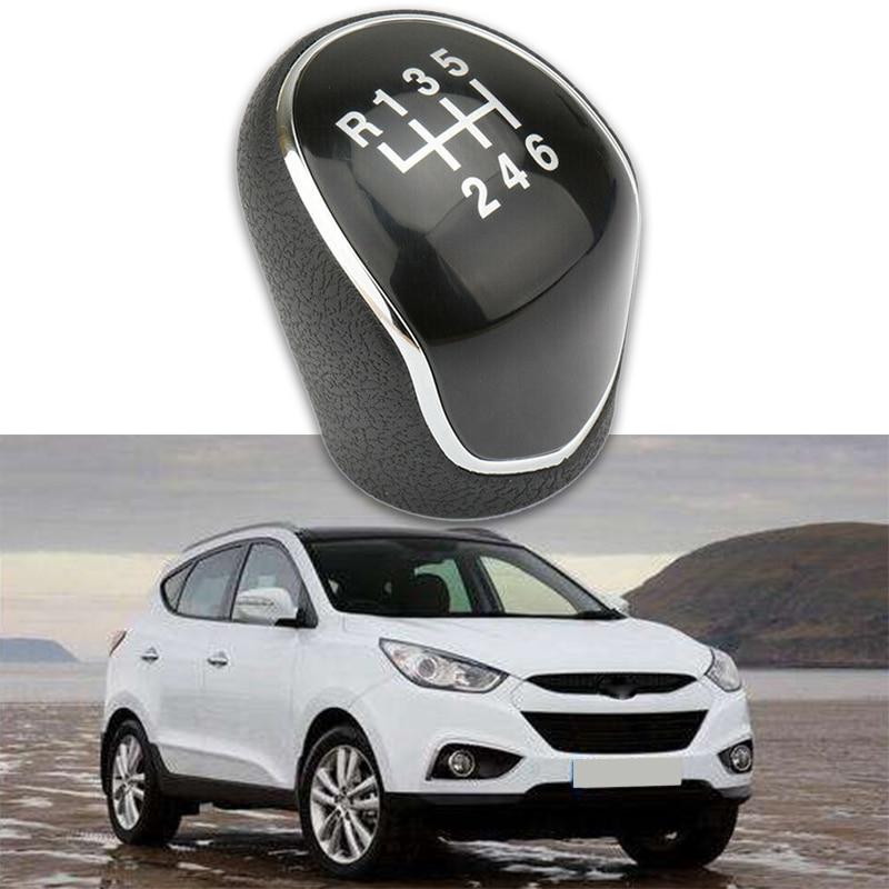 6 Speed Manual Stick Gear Shift Knob For Hyundai IX35 2012-2016 Car Lever Shifter Head Handball Gear Shift Knob