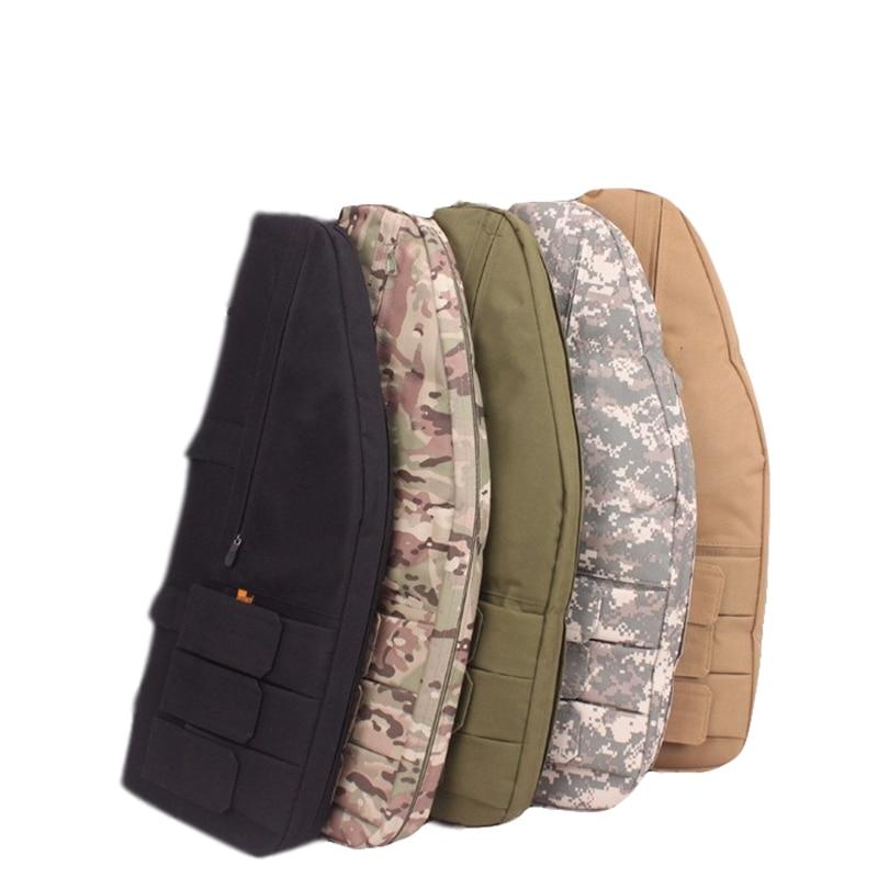 Hot Sale Hunting Rifle Gun Case Tactical Soft Gun Bag 70cm Airsoft Paintball Rifle Nylon Shoulder Bag for Shooting Outdoor