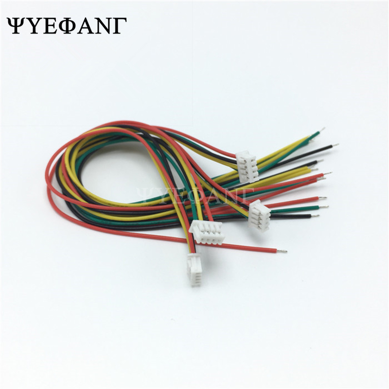 10PCS mini <font><b>micro</b></font> <font><b>JST</b></font> 1.25 2/3/4/5/6/7/8/9/10 pin female plug connector with wire Single Head 10cm cable 28AWG <font><b>1.25mm</b></font> image