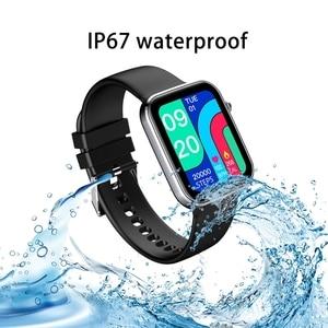 Image 5 - LIGE 2021 IP67 방수 스마트 워치 남성 여성 스포츠 시계 심박수 피트니스 트래커 수면 모니터 Smartwatch