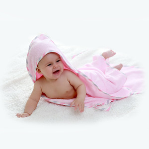 Image 3 - ソフト純粋な綿のバスタオルのためのTHB5強力な吸収親子タオル暖かい幼児フード付きタオル新生児用品