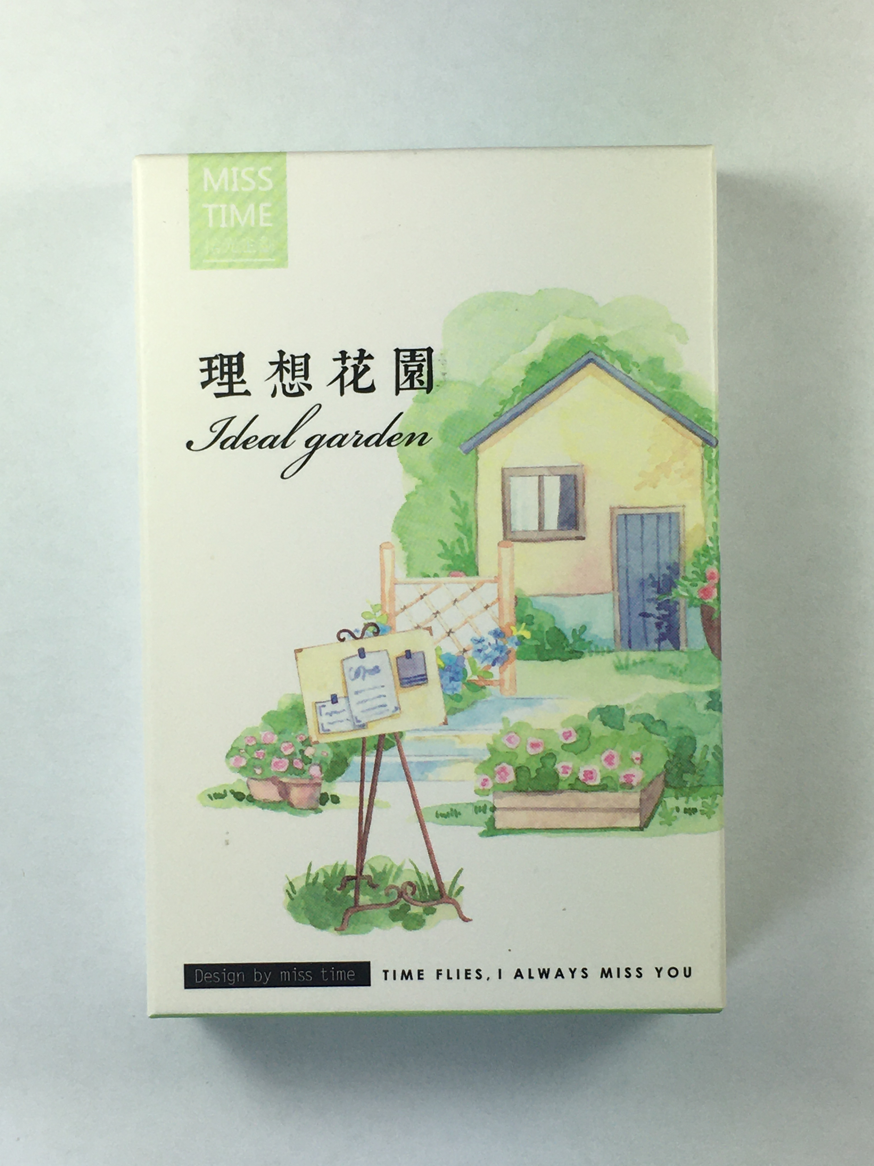 L127- Ideal Garden Paper Greeting Card Lomo Card(1pack=28pieces)